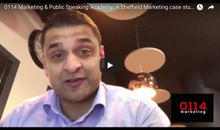 Marketing in Sheffield. A brief case study from Public Speaking Academy