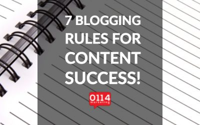 7 blog must do's for your business TODAY