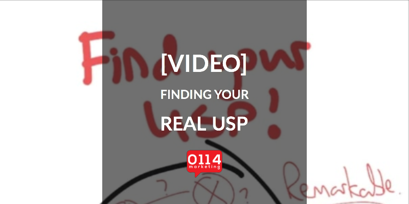 [VIDEO] How To Find Your USP