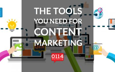 What  tools do you need for content marketing management and creation?