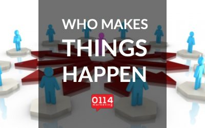Who Makes Things Happen