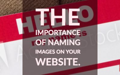 The importance of naming images for HUGE Google bonus!