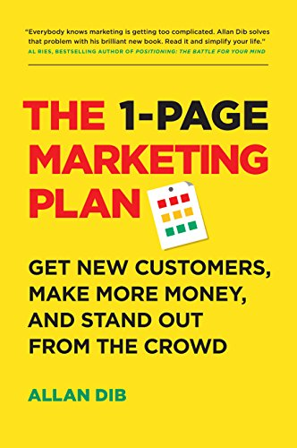 marketing planning books
